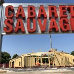 Construction picture of Cabaret Sauvage
